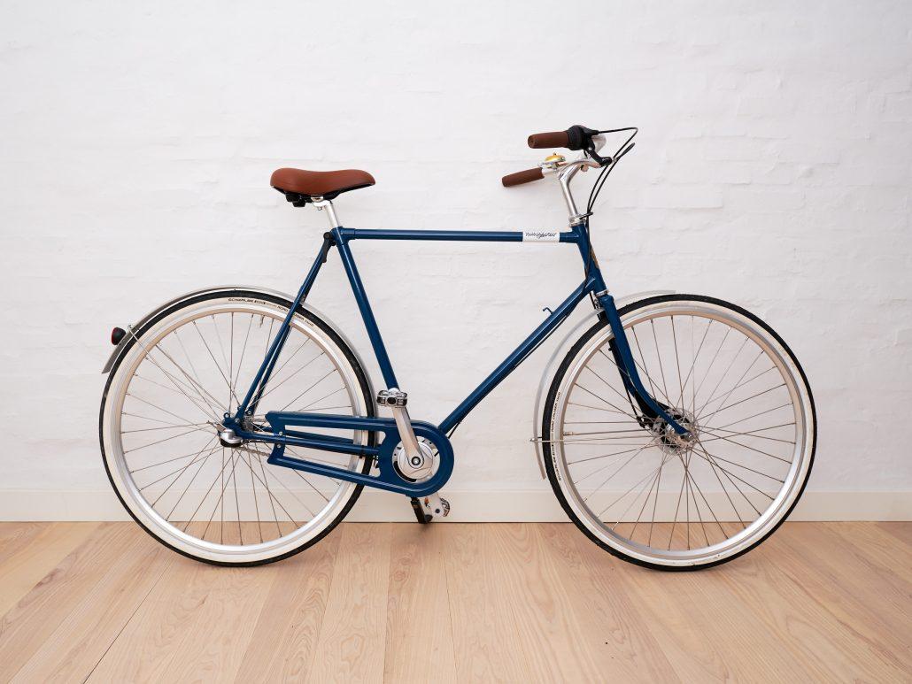 Mens bike blue