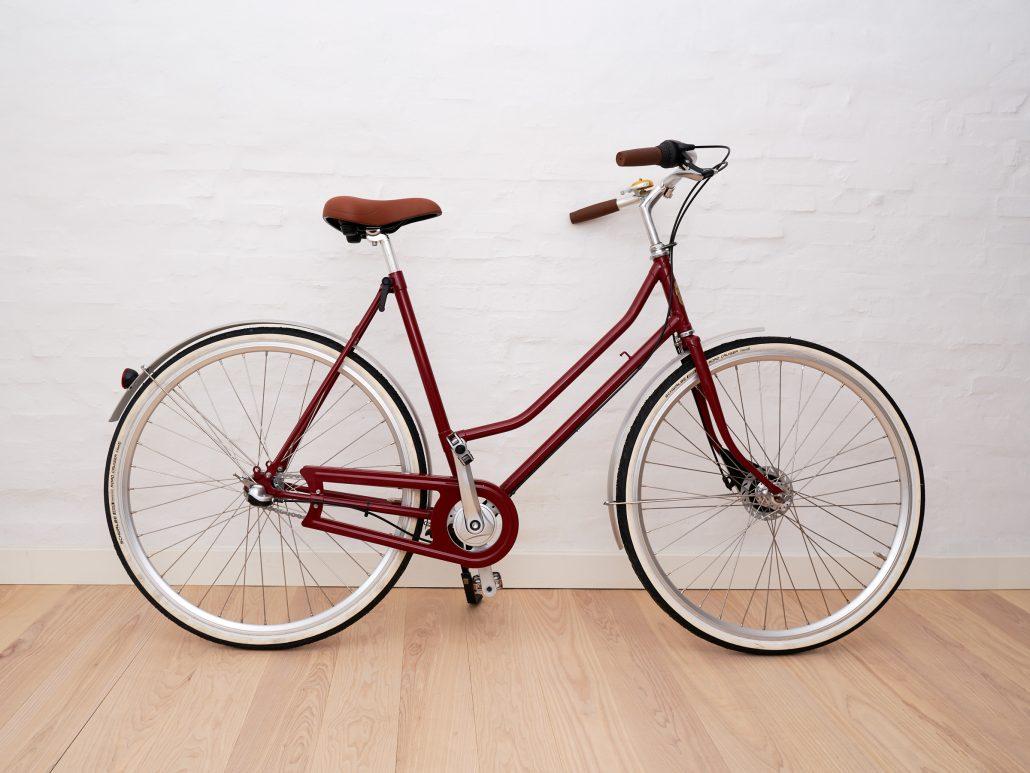 Ladies bike Red