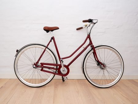 Ladies bike Red